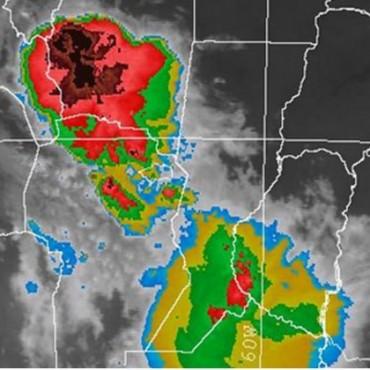 Alerta meteorológica por probables tormentas fuertes para Santa Fe