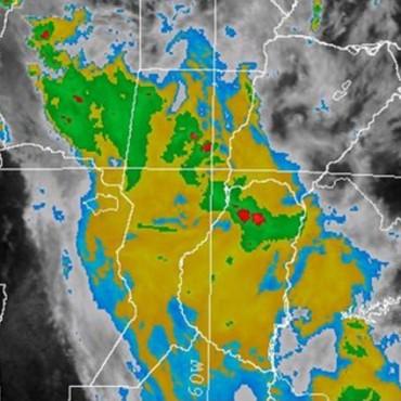 Alerta meteorológica renovada para centro y norte de la provincia