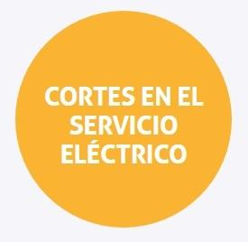 Cortes programados de energía para el miércoles