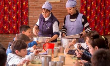 La provincia aumenta quince por ciento las partidas para comedores escolares