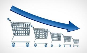 Caída de cuatro por ciento en las ventas minoristas durante febrero