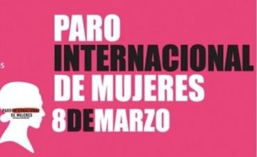 El paro de mujeres se realizará entre las 11 y las 13 horas del miércoles en la capital provincial