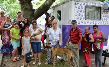 Castración de mascotas en vecinal El Chaparral de Santo Tomé