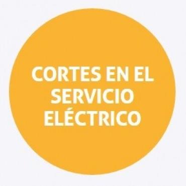Corte de energía programado para hoy en barrio Fomento 9 de Julio