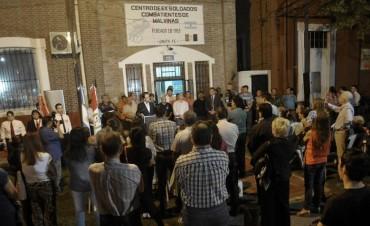 Los ex combatientes realizan una vigilia en conmemoración a los caídos en Malvinas