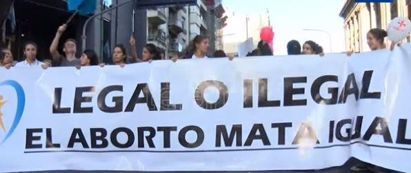 El domingo habrá marchas contra el aborto en todo el país