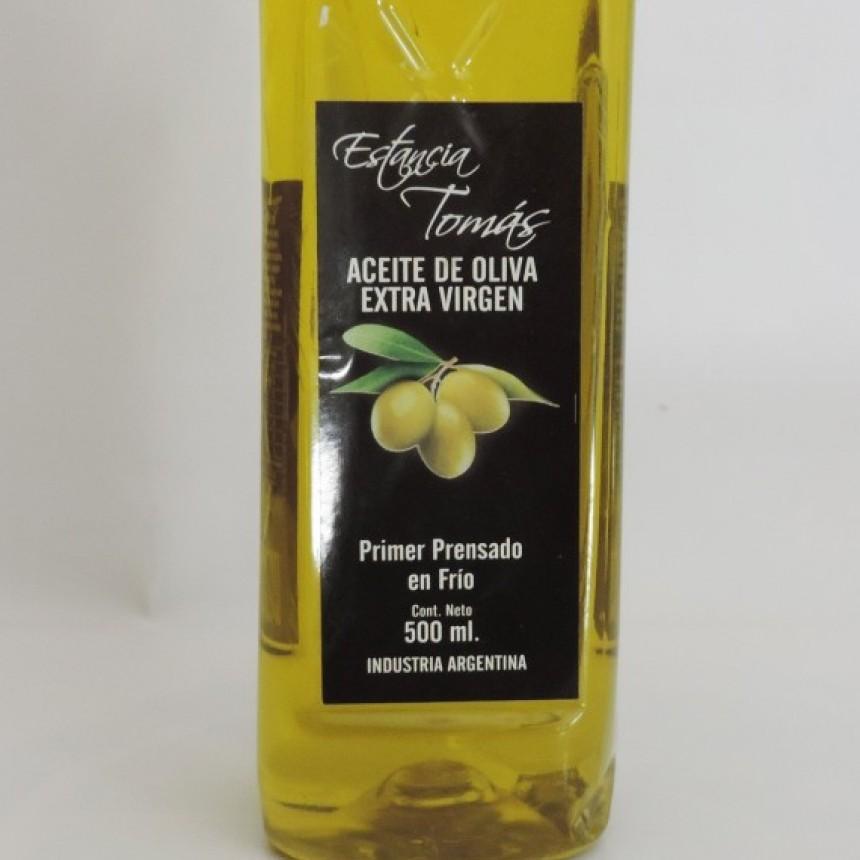 La Assal prohibió el aceite de oliva extra virgen Estancia Tomas