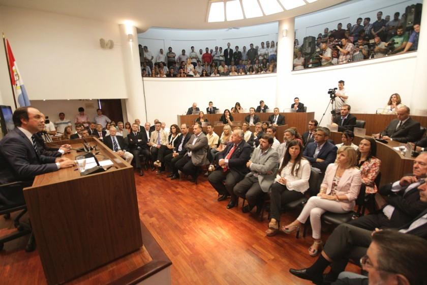 José Corral inaugura las sesiones ordinarias del Concejo Municipal