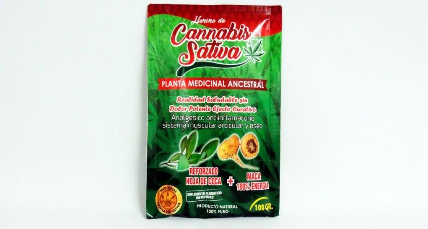 La Assal prohibió la venta de la harina de Cannabis Sativa