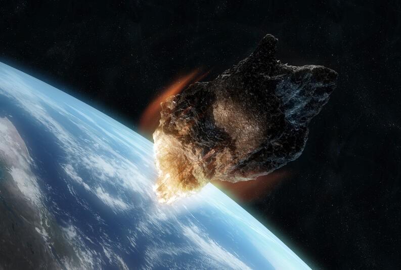 ¿Se aproxima un asteroide a la Tierra?