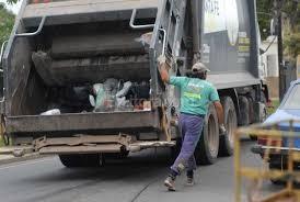 Recolección de residuos durante Semana Santa en Santo Tomé