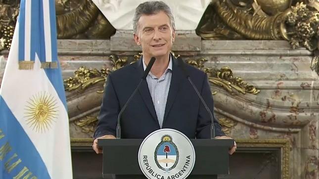 Mauricio Macri llega a Paraná