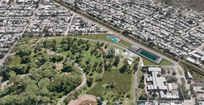Nación enviará fondos para constuir una pileta olímpica en el Parque Garay