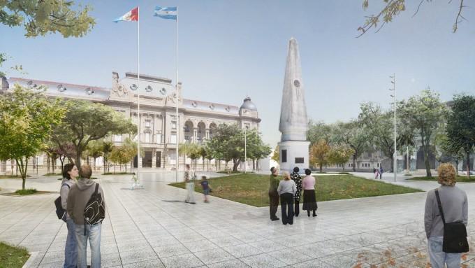 La licitación para remodelar Plaza 25 de Mayo será el jueves