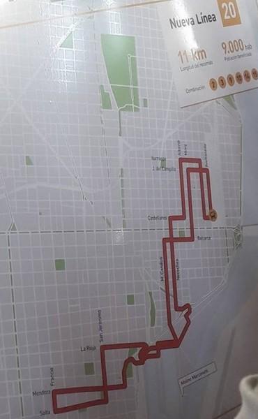 La línea 20 comenzará a funcionar desde el 17 de abril