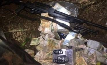 Apareció parte del millonario botín robado en Ciudad del Este