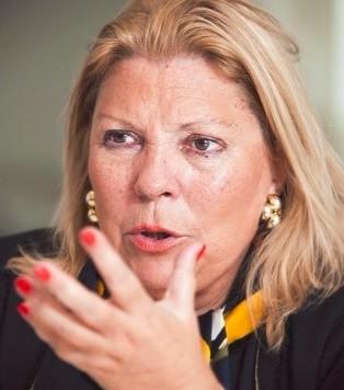 Elisa Carrió acusa a Ricardo Lorenzetti de espionaje