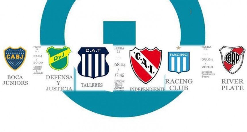Fin de semana de Superliga en Radio Uno FM 101.3
