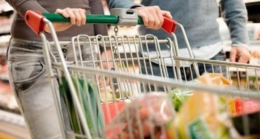 La canasta básica total subió uno y medio por ciento en marzo
