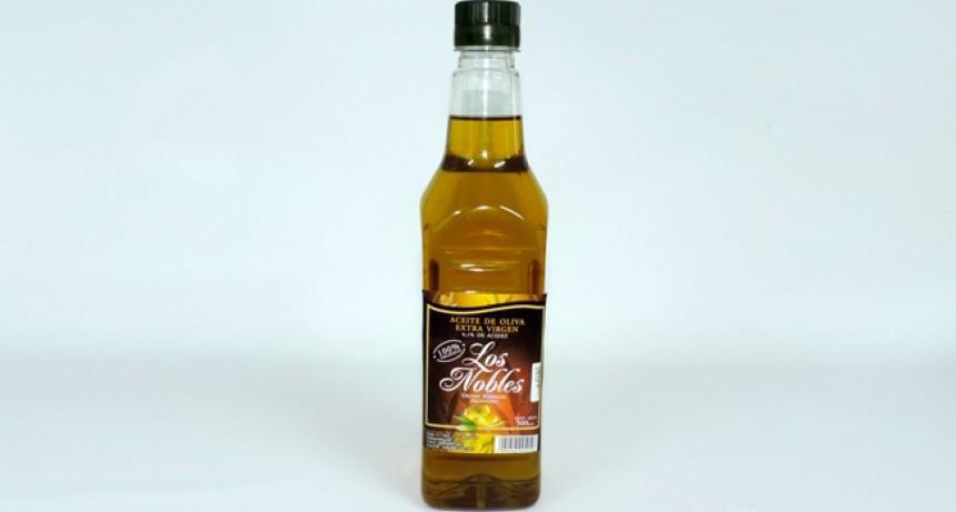 La Assal prohibió la venta del producto aceite de oliva Los Nobles