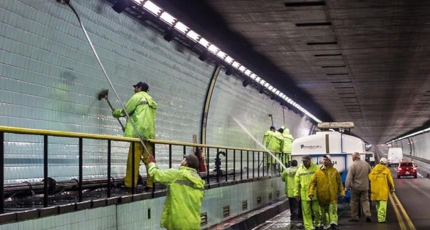 Tránsito alternado esta noche en el Túnel Subfluvial por tareas de limpieza