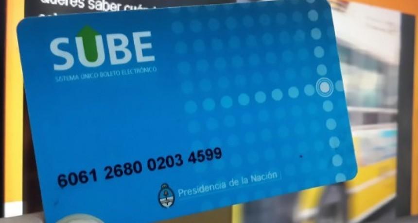 La tarjeta SUBE no se podrá cargar el lunes y el martes en comercios locales