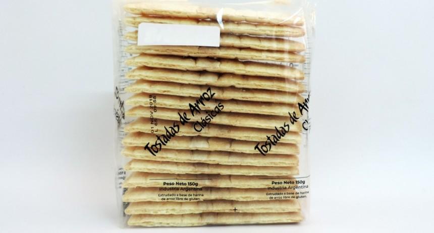 La Assal prohibió la venta de Tostadas de arroz Clásicas