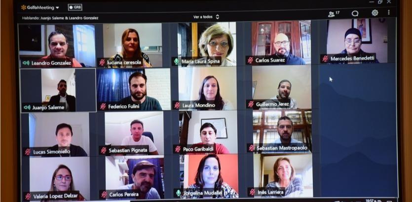 El Concejo de Santa Fe continúa las reuniones virtualmente