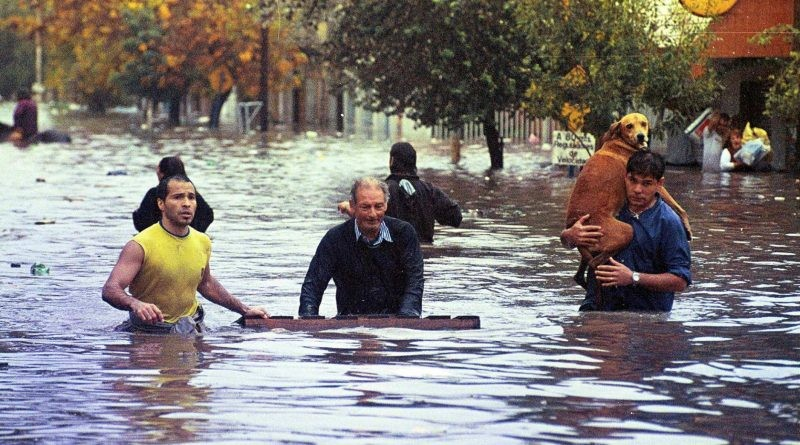 Se cumplen 17 años de la inundación