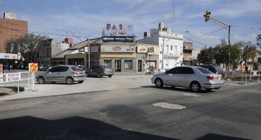 Los arreglos de las cañerías de Boulevard Pellegrini y Urquiza finalizarían el fin de semana