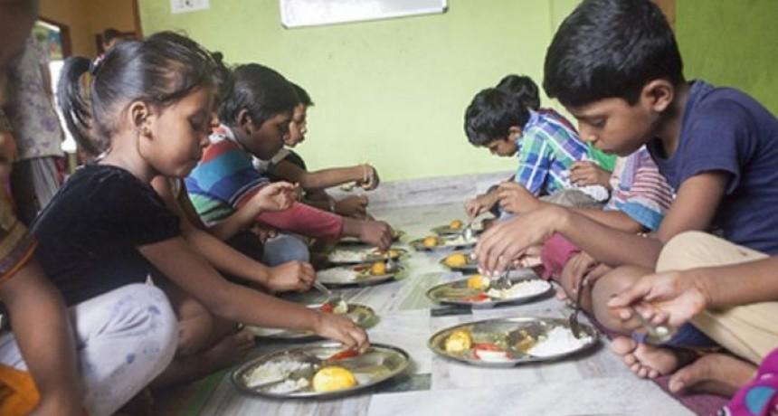 La mayoría de los niños con malnutrición tienen entre 6 y 10 años