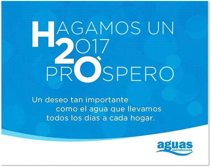 El lunes no abrirán los centros de atención de Aguas Santafesinas