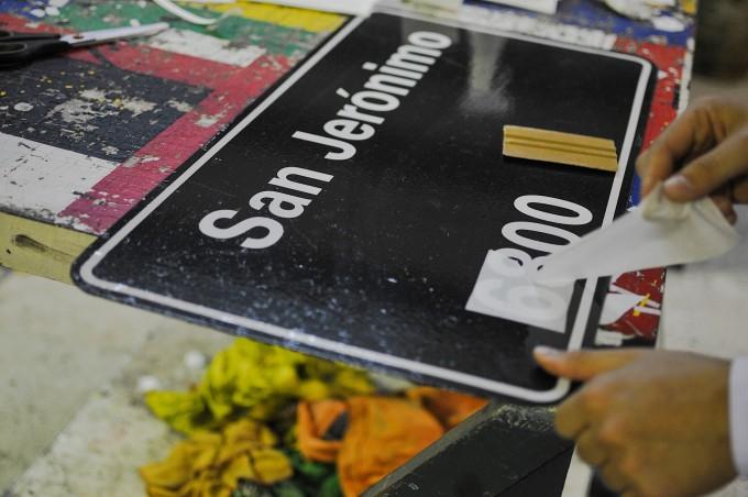 El Municipio renovará unos 3 mil carteles nomecladores de calles