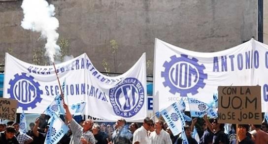 La UOM iniciará medidas de fuerza por la falta de acuerdo en paritarias