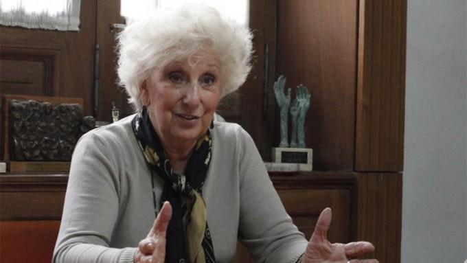 Estela de Carlotto criticó nuevamente la política de Derechos Humanos de Macri
