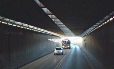El Túnel subfluvial tendrá tránsito alternado en la madrugada