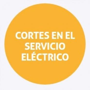 Cortes de energía programados para el jueves en Santa Fe y la costa