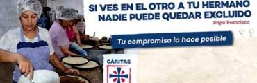 Cáritas inició su campaña para la colecta anual del mes próximo