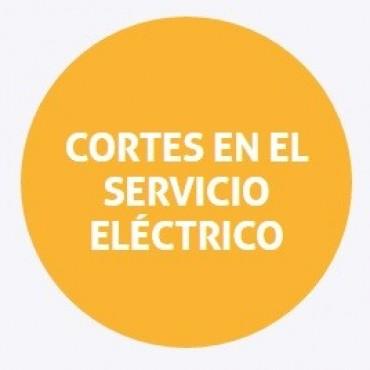 Corte de energía programado para el miércoles