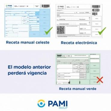 Afiliados al PAMI no podrán usar la receta verde para comprar medicamento desde junio