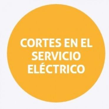 Cortes de energía programados para Santa Fe y la costa