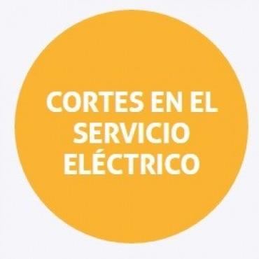 Cortes de energía programados para el viernes en Santa Fe
