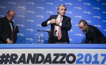 Florencio Randazzo presentó avales para competir en las PASO
