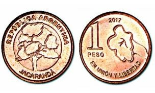 Las nuevas monedas de 1 peso comenzaron a circular en la ciudad de Santa Fe