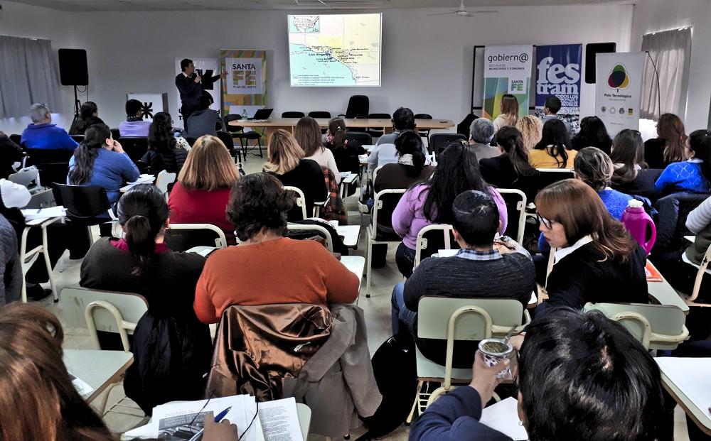 Festram sigue con los programas de capacitación laboral en el norte provincial