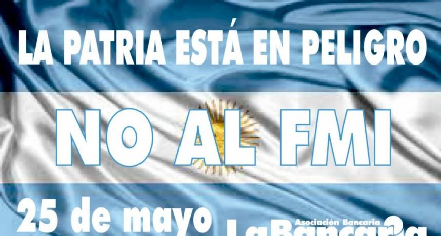 Gremios opositores marcharán el 25 de Mayo hacia Casa Rosada