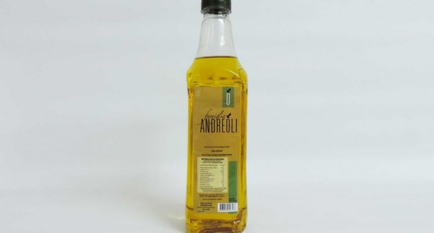 """La Assal prohibió la venta de aceite """"Famiglia Andreoli"""""""