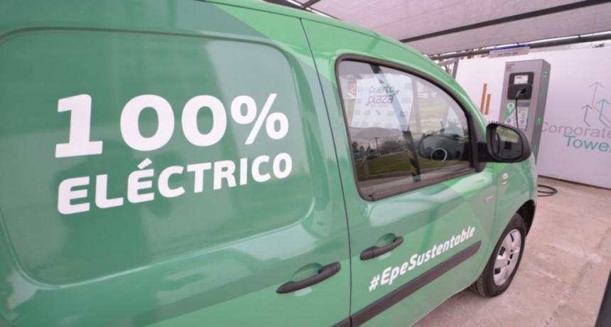 Santa Fe tiene estación de carga para vehículos eléctricos