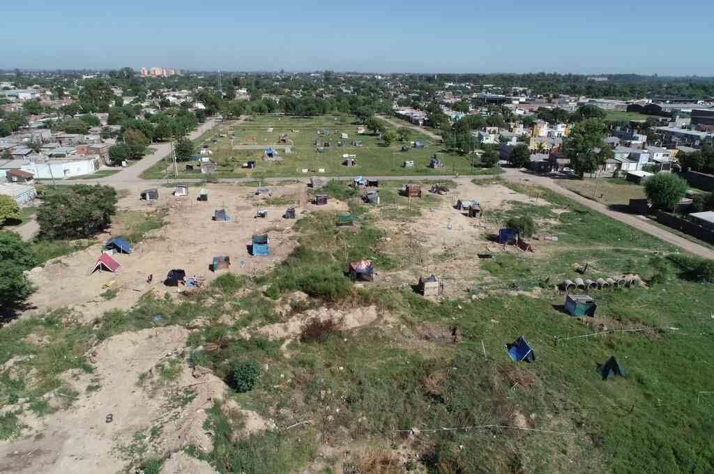 Continúan las usurpaciones en terrenos ubicados en el norte de la ciudad