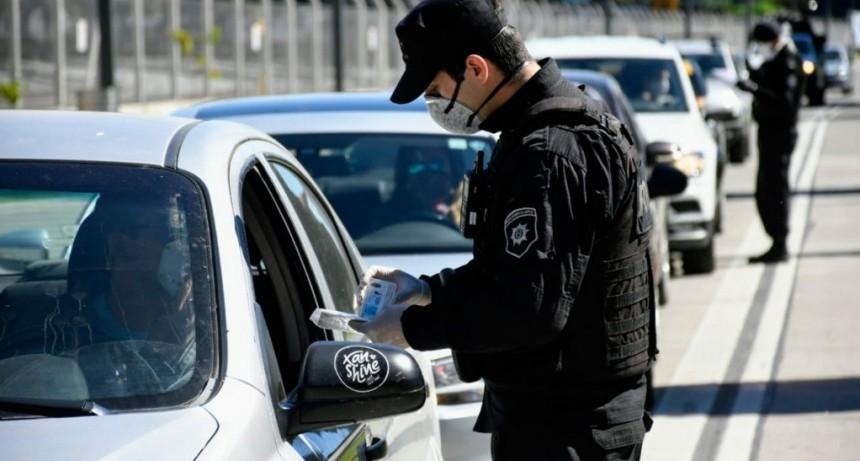 Aumentaron los controles fronterizos con la provincia de Buenos Aires
